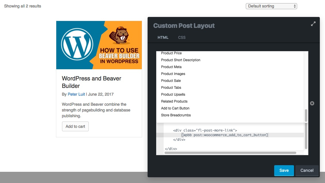 Finally freedom in WooCommerce product archive and product single ...
